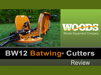 Review: Woods Batwing Mower