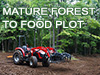 In just 12 hours and 5 steps we transform the perfect property location into a thriving food plot. See how we do it.