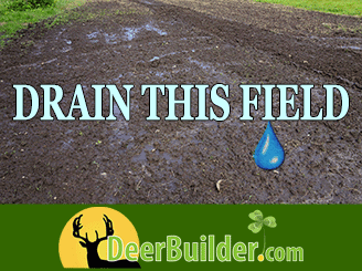 Fields too wet to plant? Drain them